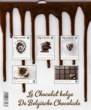 チョコレート味がする切手