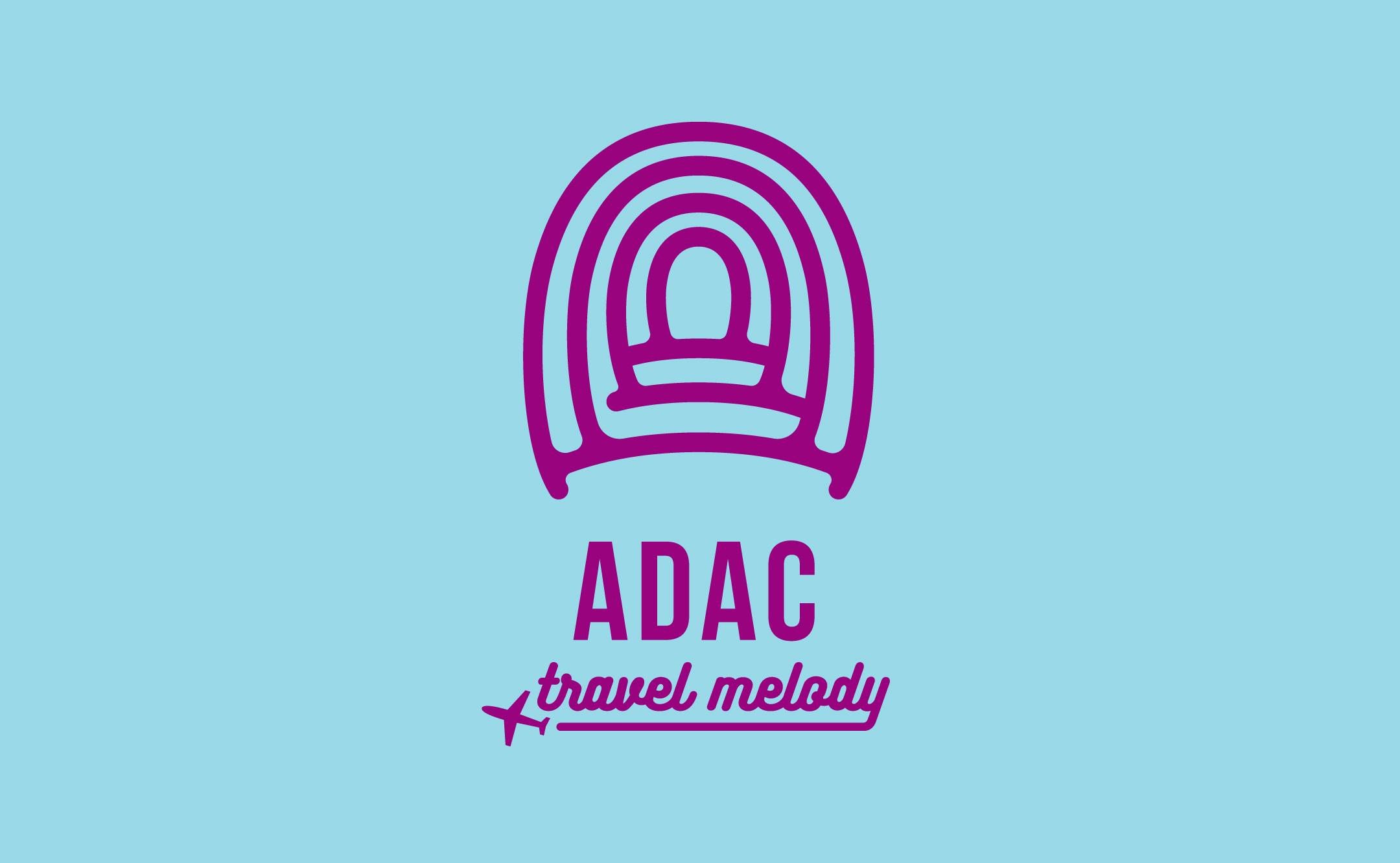 旅行・イベント企画 ADAC travel melody デザイン制作