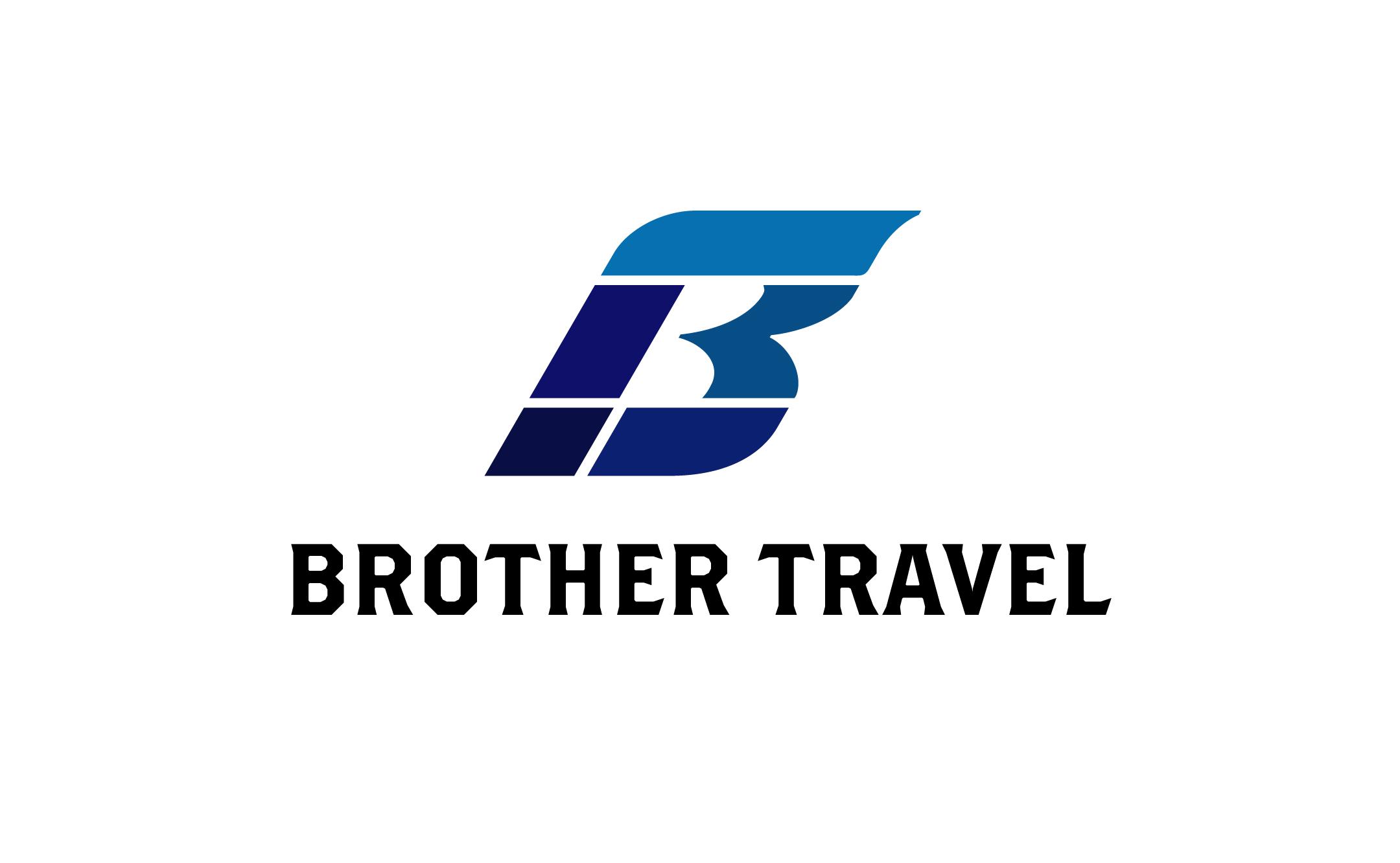 旅行・ツアー企画 ブラザートラベル ロゴ制作