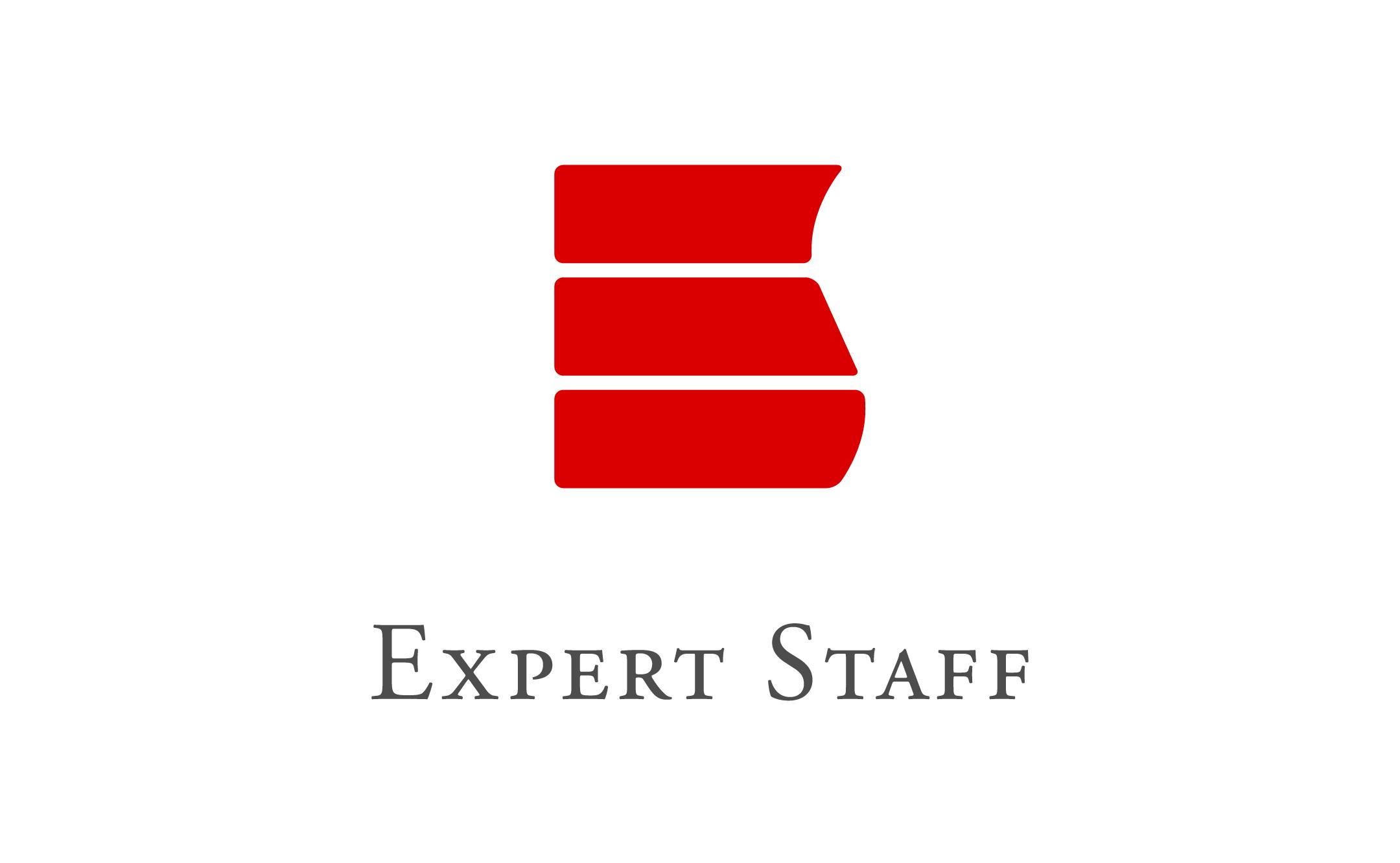 人材サービスのエキスパートスタッフ ロゴ制作