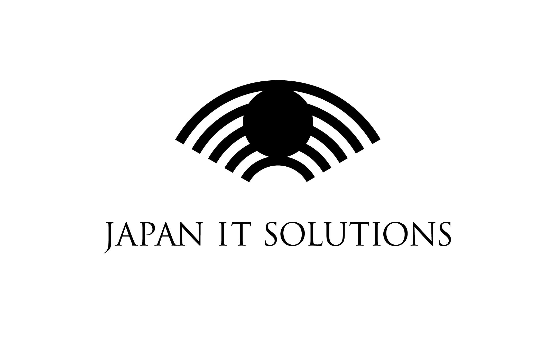 IT企業 JAPAN IT SOLUTIONS ロゴ制作