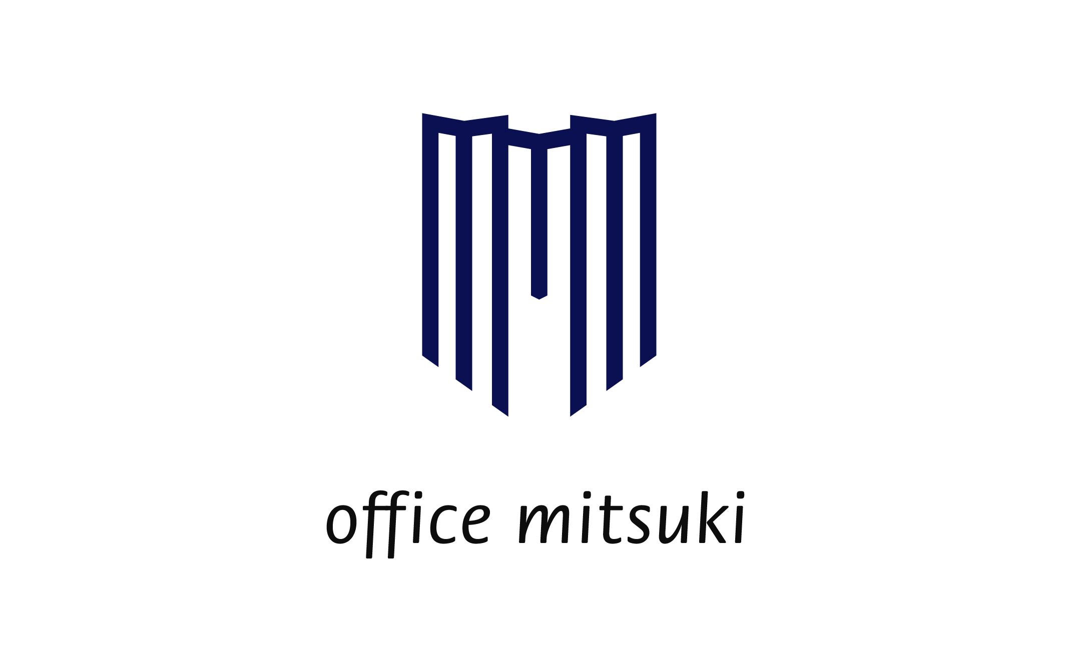 原宿・表参道・青山エリアの不動産 オフィス・ミツキ ロゴ制作