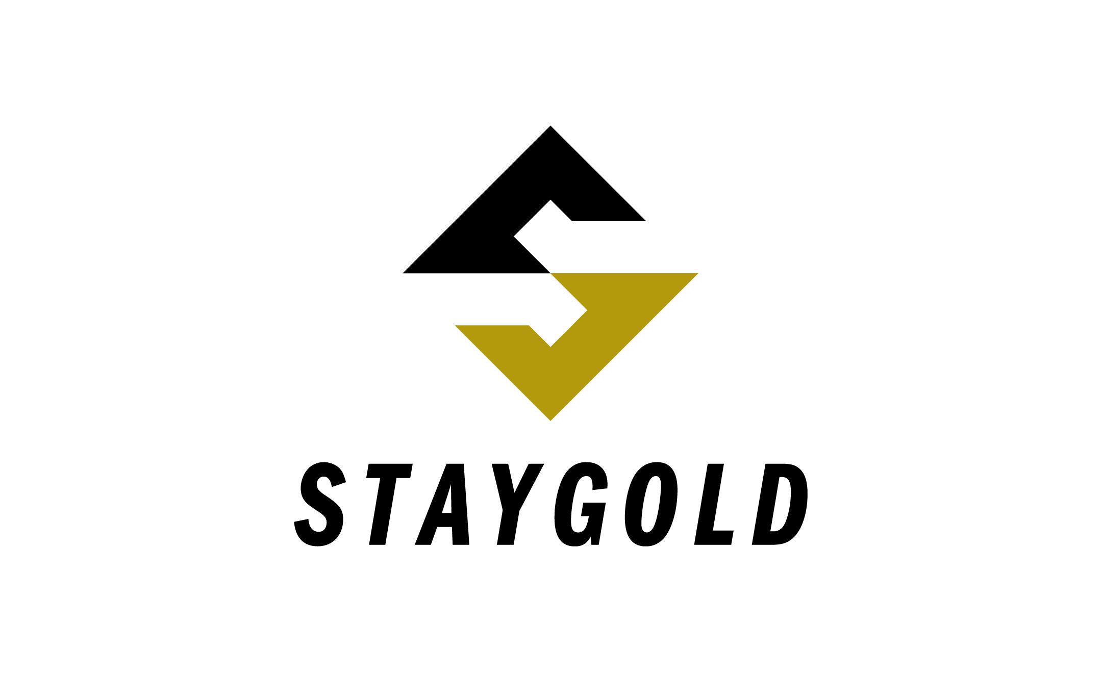 リユース事業 STAYGOLD 企業ロゴ・ブランドロゴ制作