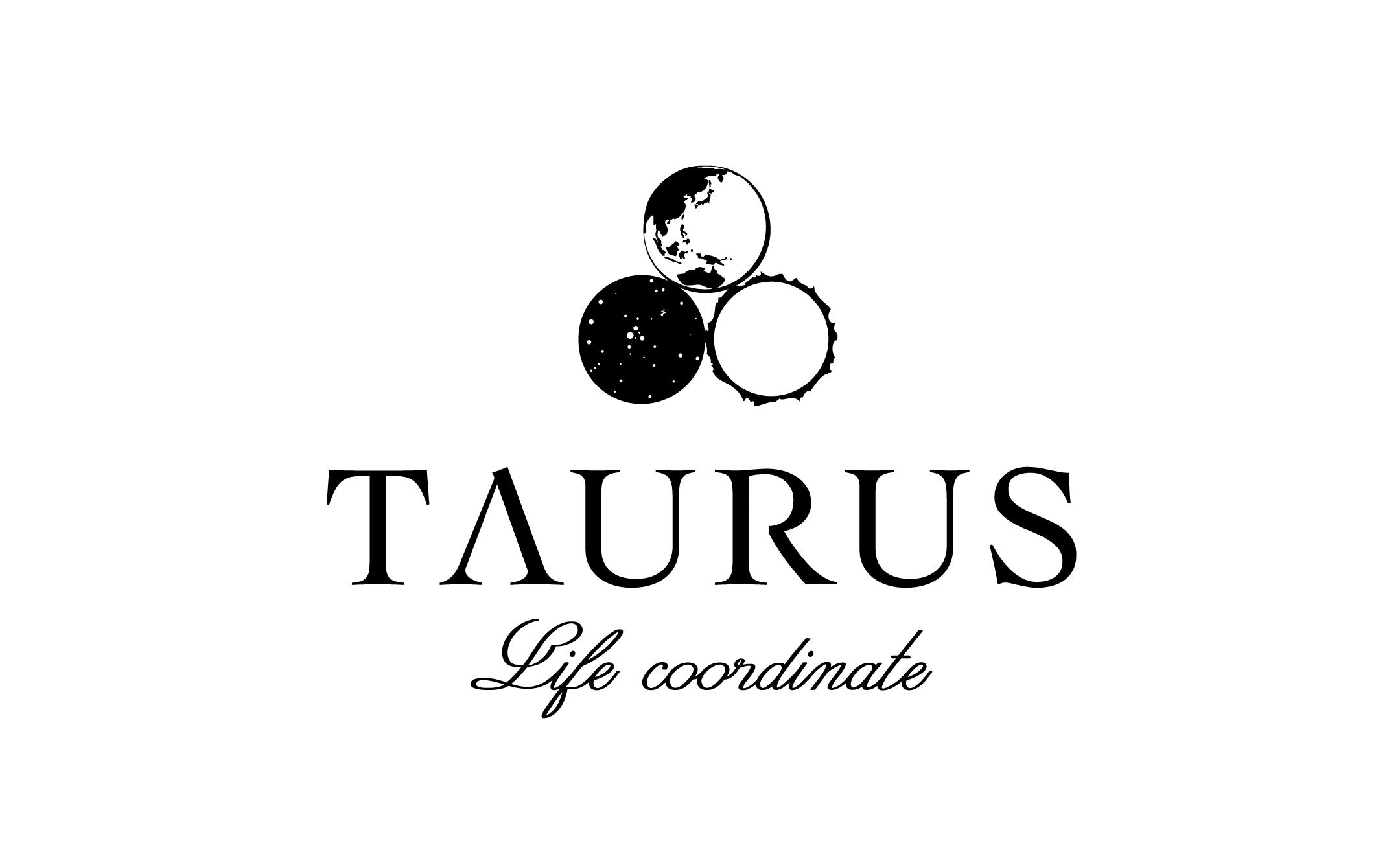 パワーストーンセラピー TAURUS ロゴ制作