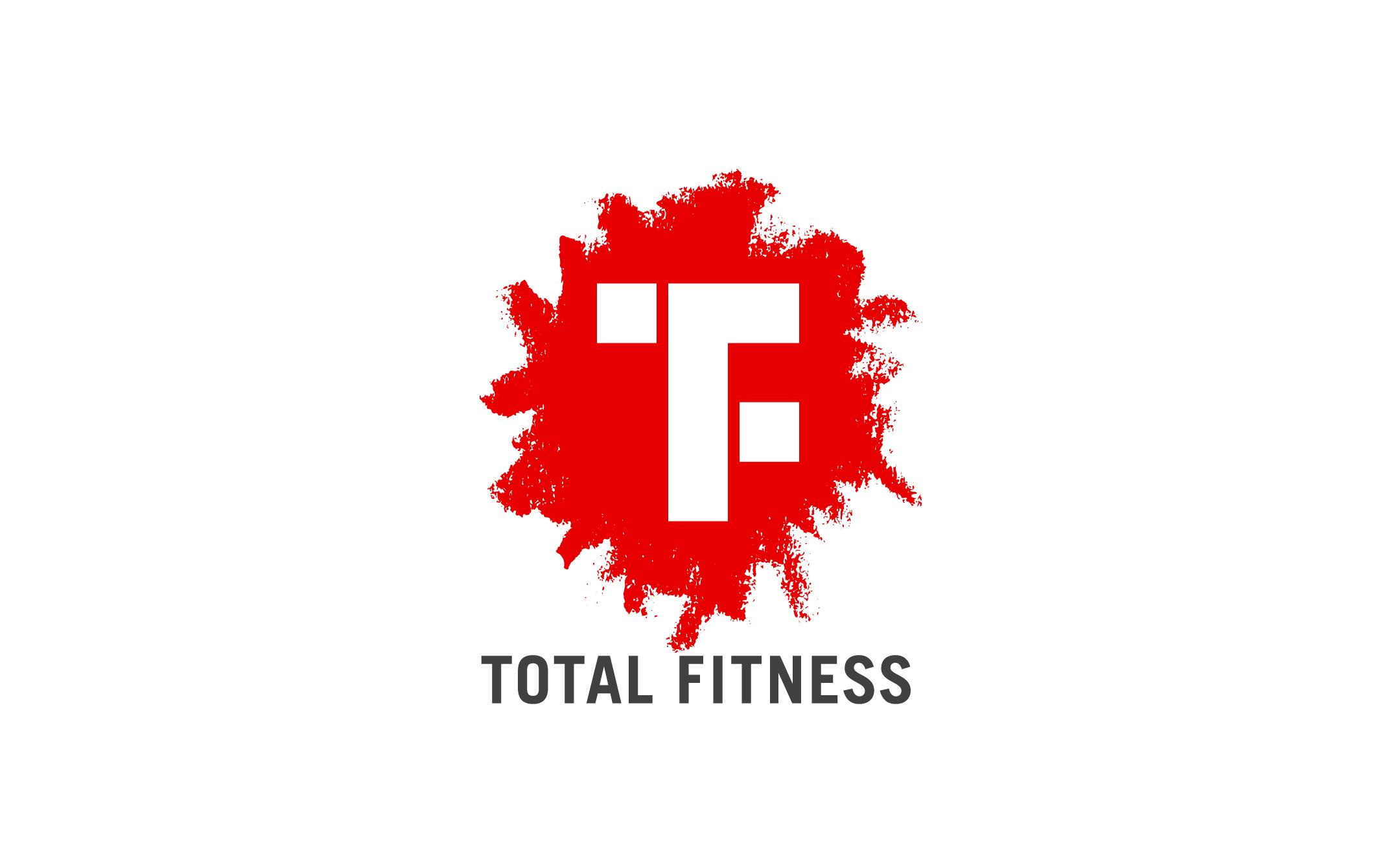 体のコンディション調整 トータルフィットネス ロゴ制作