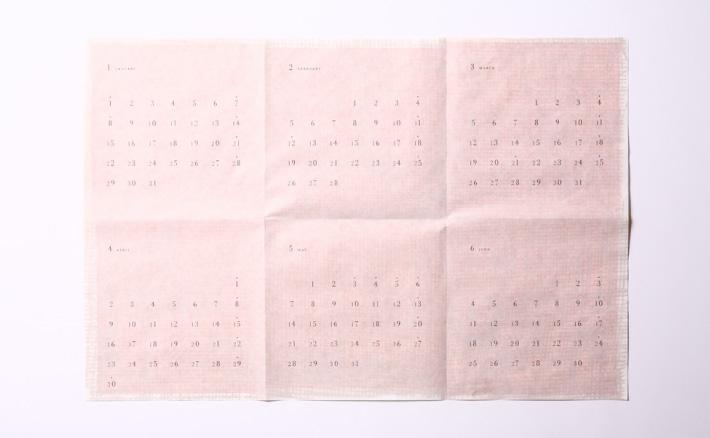 カレンダー/作成/制作