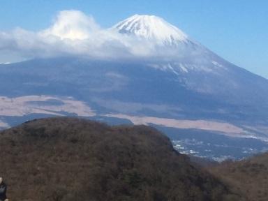 元旦 箱根からの富士山